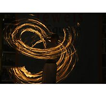 the Love of Flames  Photographic Print