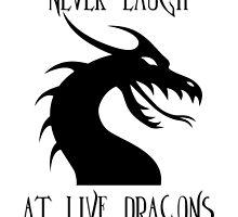 Laugh at Dragons by kajohnna