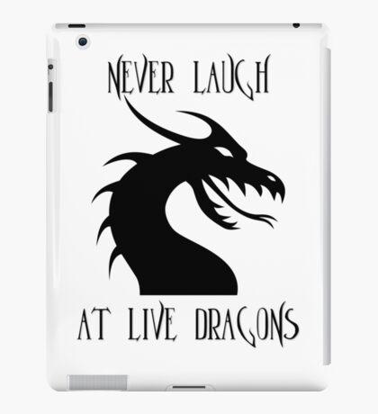 Laugh at Dragons iPad Case/Skin