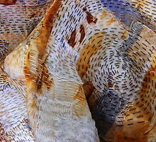 Disintegration Collaboration - stitchings  by debEC