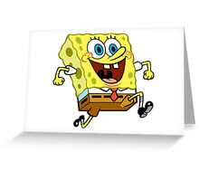 Spongebob Greeting Card