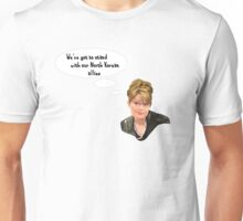 We've got to stand with our North Korean allies. Unisex T-Shirt