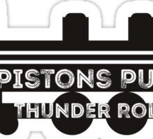 Pistons Pumping Sticker