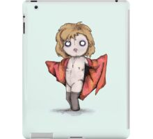 I'd Plush Me iPad Case/Skin