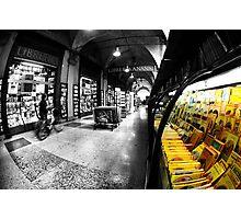 Urban Cityscape bookshop  Photographic Print