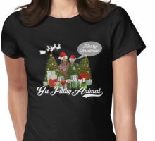 Have a  Supernatural Christmas  Womens Fitted T-Shirt