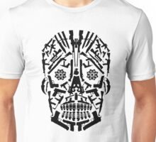 Gun Skull Unisex T-Shirt