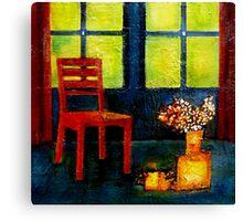 interior scene Canvas Print