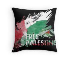 Throw pillow Free Palestine Throw Pillow