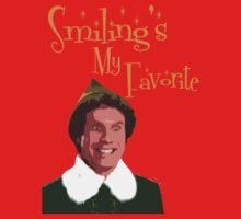 Buddy The Elf - Smiling's My Favorite Kids Clothes
