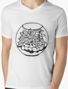 Fred the Succulent Mens V-Neck T-Shirt