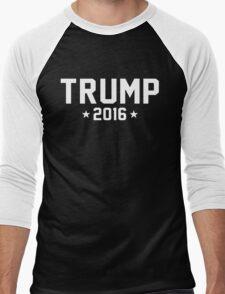 Trump [White] Men's Baseball ¾ T-Shirt