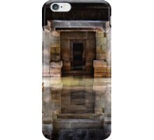 Sunken symmetrical reflection iPhone Case/Skin