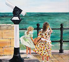 The Windy Day by Mike Paget