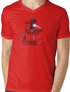 Insert Coin Mens V-Neck T-Shirt