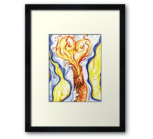 Burning Love Framed Print