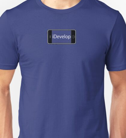 iDeveloper Apple Programmer with iDevice Unisex T-Shirt