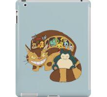 Poke' School Bus iPad Case/Skin