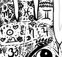 Hand of Wisdom. By Ane Teruel.  Sticker