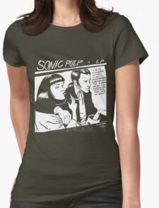 Sonic Pulp: Goo Fiction Womens Fitted T-Shirt