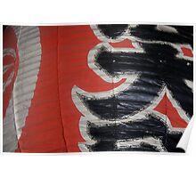 Lantern Texture ~ Kawasaki, Japan Poster