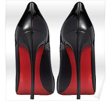 Christian Louboutin Red Sole Pair - Designer/Fashion/Trendy/Tumblr/Hipster Meme Poster