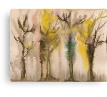 Talkative Trees Canvas Print