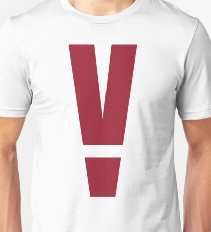 "Metal Gear Solid - ""V"" Alarm Unisex T-Shirt"