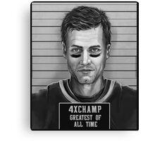 Brady Mug Shot Canvas Print