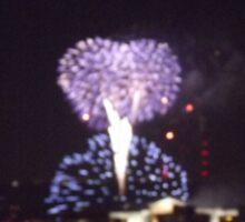 Firework Celebration Sticker
