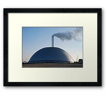 What is it and why is there no one in the car park ?  Framed Print