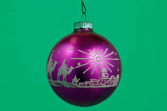 Three Wise Men - Christmas Ornament by Gene Walls