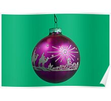 Three Wise Men - Christmas Ornament Poster