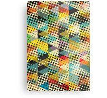 Dots and Triangles II Metal Print