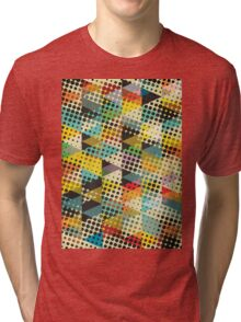 Dots and Triangles II Tri-blend T-Shirt