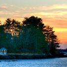 New England Sunset by Monica M. Scanlan