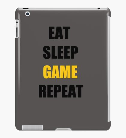 Game. iPad Case/Skin