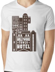 Tower of Terror  Mens V-Neck T-Shirt