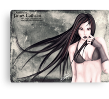 err vampy, I guess Canvas Print