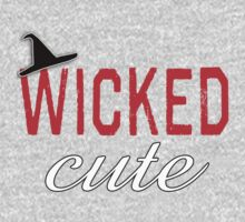 Wicked Cute with Witch Hat One Piece - Short Sleeve