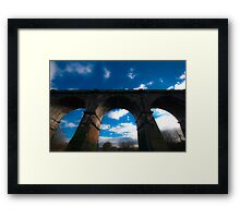 Split Screen Framed Print