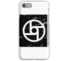 Square-Transportation-Black iPhone Case/Skin