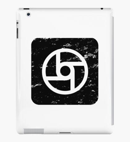 Square-Transportation-Black iPad Case/Skin