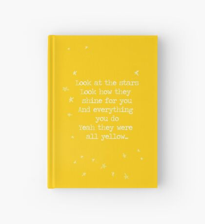 Yellow Hardcover Journal