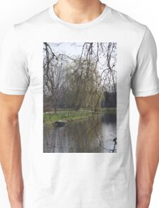 Spring by the canal Unisex T-Shirt