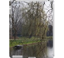 Spring by the canal iPad Case/Skin