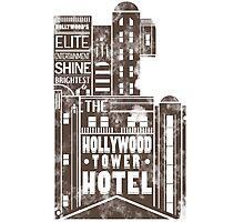 Tower of Terror  (distressed edition) Photographic Print