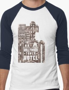 Tower of Terror  (distressed edition) Men's Baseball ¾ T-Shirt