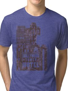 Tower of Terror  (distressed edition) Tri-blend T-Shirt