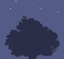 Totoro by littlekitsune